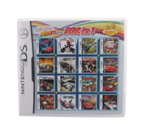 502 In 1 Video Game Cartridge For Nintendo DS 3DS 2DS Super Combo Multi Cart