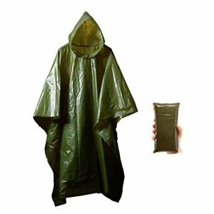 Lightweight Rain Gear Poncho Emergency Survival Cover Shelter Norwegian Army