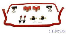 """RRx Series™ Pro-Touring Chrome Moly Sway Bars Set w/ Spherical End Links (3.00"""")"""