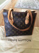 Pre-owned Authentic Louis Vuitton Monogram Canvas Popincourt Haut Shoulder Bag