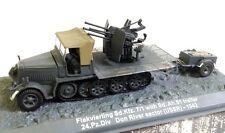 1/72 FLAKVIERLING Sd.KFZ TRAILER DON RIVER USSR WWII WWII IXO ALTAYA DIECAST