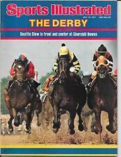 First SEATTLE SLEW Sports Illustrated 1977 KENTUCKY DERBY Jean Cruguet NO LABEL