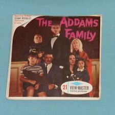 vintage THE ADDAMS FAMILY VIEW-MASTER REELS packet with booklet