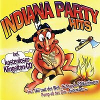 "Indiana Party Hits "" incl. Ringtone CD "" ZYX 2007 2 Box New & Original Packaging"