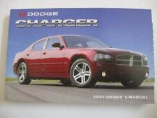 2007 DODGE CHARGER AND R/T OWNERS OPERATORS MANUAL FOR GLOVE BOX NICE ORIGINAL
