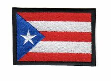 PUERTO RICAN FLAG PATCH