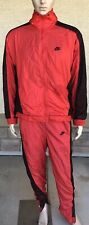 Vintage Nike Air Jordan Flight 2 Piece Tracksuit Bred Colors Red Black Netted