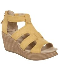 Dr. Scholl's Long Island Wedge Sandal Gold Yellow 8.5