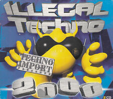 ILLEGAL TECHNO - various artists CD
