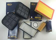 SET FILTRI / KIT DI ISPEZIONE 6 x FILTRO SCT GERMANIA W210 200 COMPRESSORE