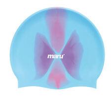 MARU Multi Silicone swim CAPPELLO BLU / ROSA SILICONE