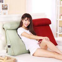 1 Pc Sofa Cushion Comfortable Headrest Pillow Highly Resilient Lumbar Pillow