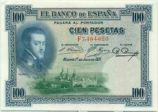ESPAGNE - 100 PESETAS (1925) - BILLET DE BANQUE // Qualité : SUP