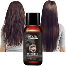 Mokeru 30ml Organic New Virgin Coconut Oil Hair Repairing Damaged Hair Growth Tr