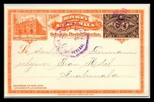 GP GOLDPATH: GUATEMALA POSTAL CARD _CV712_P20