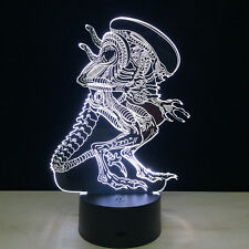 Night Light Acrylic Lamp LED Alien Xenomorph Nostromo Home Decoration Christmas
