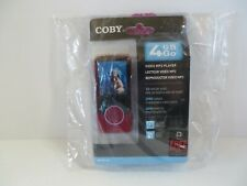 "Coby 4GB Go Video MP3 Player FM Radio 2"" LCD Screen - MP707-4G NEW Sealed"