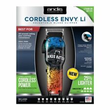 Andis Cordless Envy Li Adjustable Blade Barber Andis Nation Hair Clipper #73045