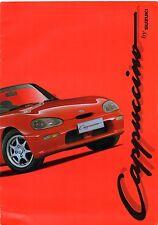 Suzuki Cappuccino 1993-95 UK Market Large Format Sales Brochure