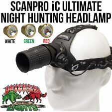 Wicked Lights ScanPro IC Ultimate Night Hunting Headlamp for Coyotes Hogs Foxes