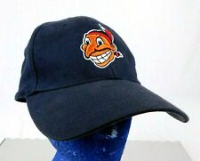 Cleveland Indians Chief Wahoo Logo 1948 Black Baseball Cap Hat Cooperstown