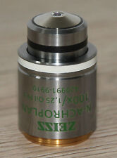 Zeiss MICROSCOPIO Microscope obiettivamente N-achroplan 100x/1,25 OIL ph3
