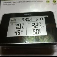 Taylor Precision Products Wireless Digital Indoor/Outdoor Weather Station 1731
