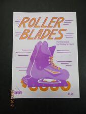 Roller Blades Schaum Piano Sheet Music 1992 Wesley Schaum Vintage