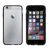 GRIFFIN REVEAL IPHONE 6 6S SLIM HARD CASE BLACK BUMPER CLEAR COVER - GB39040