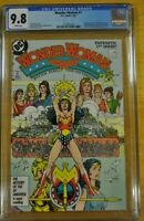 WONDER WOMAN #1 CGC 9.8 NM/M WP 1987 GEORGE PEREZ ART STORY DC COMICS 1984 7 9
