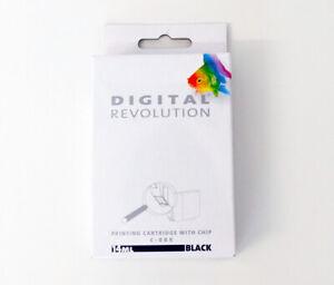 Digital Revolution Patrone mit Chip 14,00ml Schwarz C-8BK für Canon CLI-8BK