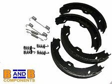 MERCEDES C CLASS W203 S203 PARKING HANDBRAKE SHOES + FITTINGS 2034200120 A499