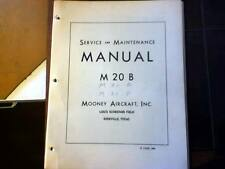 Mooney M-20B Service & Maintenance Manual