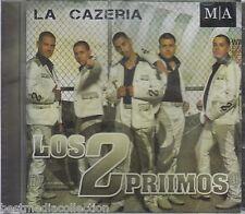 Los 2 Dos Primos CD NEW La Cazeria ALBUM Puros Corridos MA Nuevo SEALED