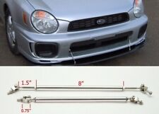 "Silver 8"" Adjustable Rod Support for Ford Bumper Lip Diffuser Spoiler splitter"