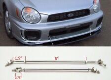 "Silver 8"" Adjustable Rod Support for Ford Bumper Lip Diffuser Spoiler splitter"