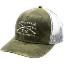Grunt Style Embroidered Logo Hat - Camo