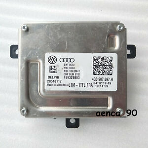 OEM For Audi VW Skoda Seat LED Headlight Ballast DRL Control Unit 4G0907697H