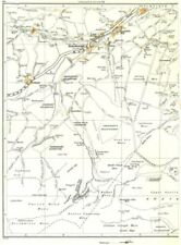 YORKSHIRE.Holmbridge,Long Walls,Hinchliffe Mill,Holme,Dobb,Upperthong 1935 map