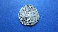 Polen - Litauen Sigismund III 3 Gröscher 1596 in ss (3557)