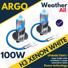 IVECO DAILY H3 100W SUPER BLANC XENON HID BAS PHARE FEUX PHARE Paire ampoules