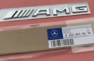 Mercedes BENZ AMG Badge for Rear Boot Trunk Tailgate for all A C E S Class
