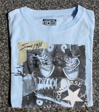 Used Converse All Star Blue T-Shirt Size M, 140-152cm, 10-12yrs