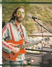 The Black Crowes Chris Robinson Custom Vox Virage guitar 8 x 11 pin-up photo