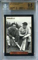 1993 Pinnacle #17 Joe DiMaggio BGS 9.5 GEM MINT 1/1 Yankees