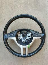 Black Leather Steering Wheel suit BMW E46 3 Series