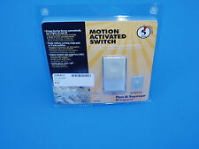 Premium Pass and Seymour Motion Activitated Light switch for bedroom MCUiV ivory