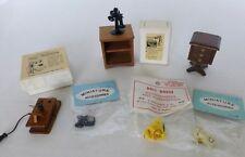 Dollhouse Miniatures Lot of Phones Nice