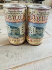 2 STENGER BREWERY Sesquicentennial Beer Cans Naperville Illinois 1831-1981