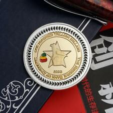 South African Animal Gold Silver Commemorative Coin Decor&Suvinior s